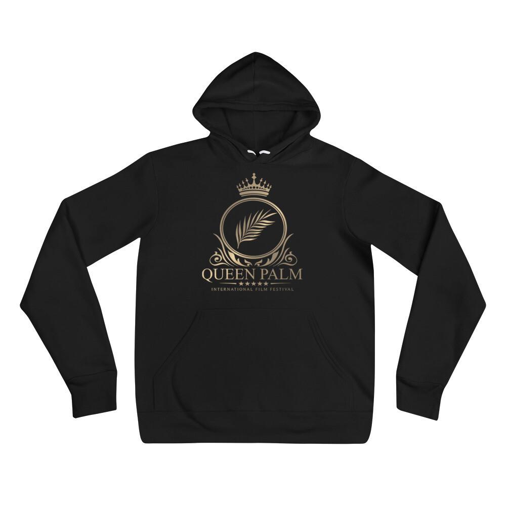 Queen Palm Unisex Logo Hoodie