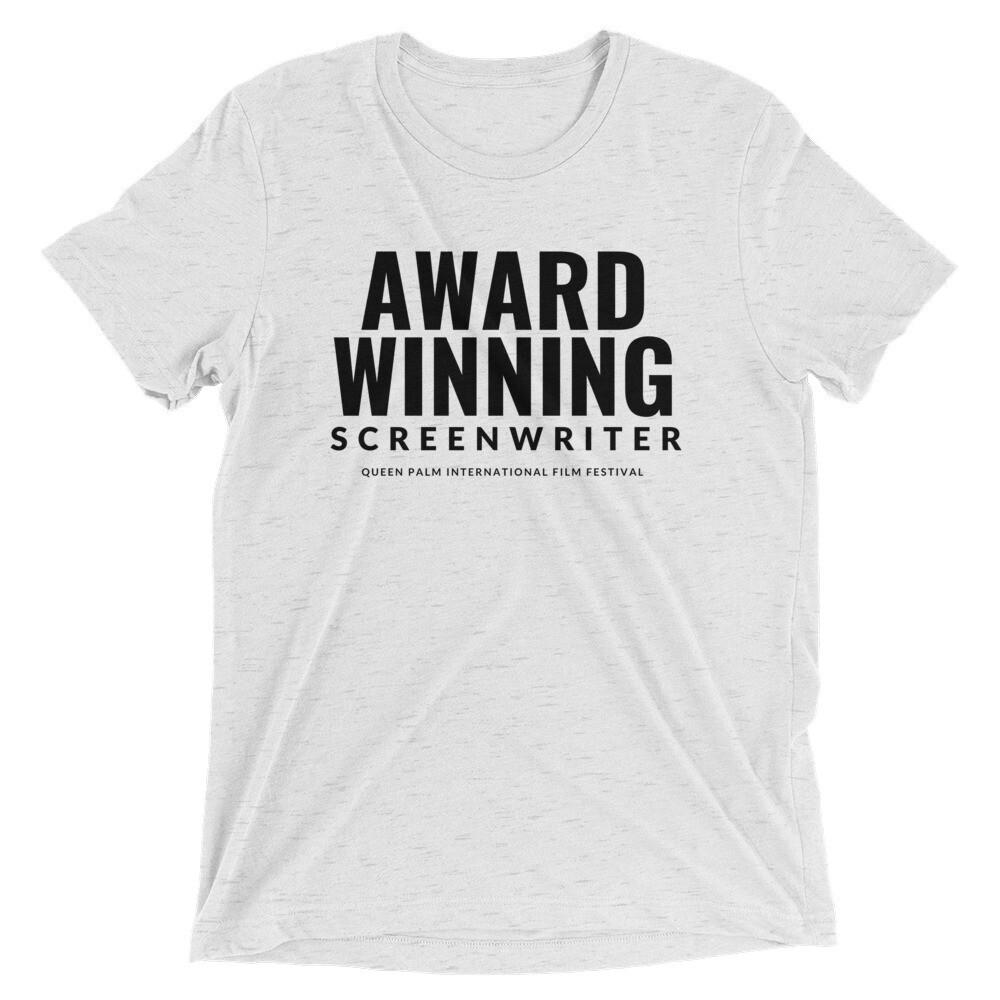 Award Winning Screenwriter Unisex Tee
