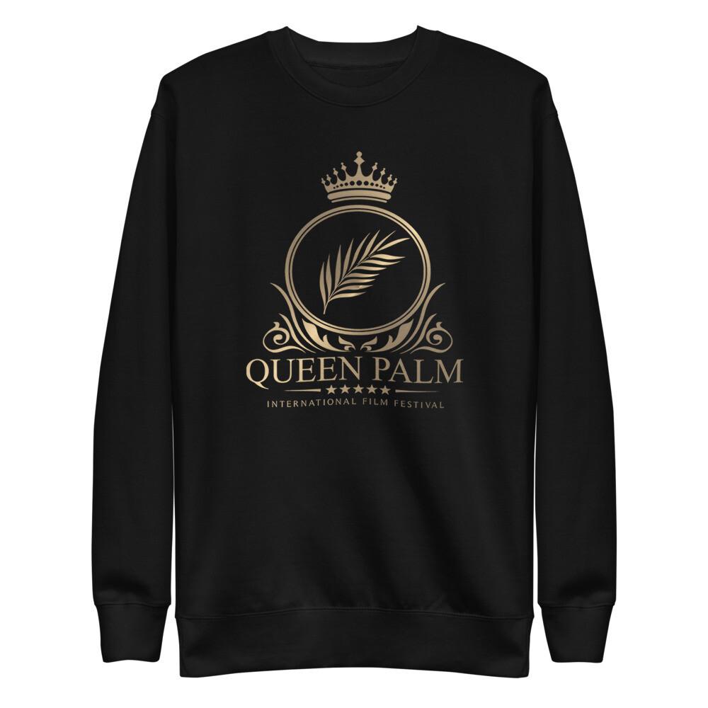 Queen Palm Logo Unisex Fleece Pullover