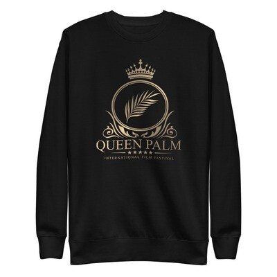Queen Palm Logo Unisex Fleece Pullover