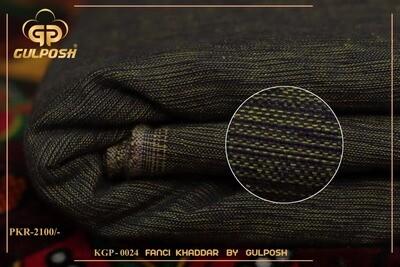 KGP-0024 FANCY KHADAR BY GULPOSH