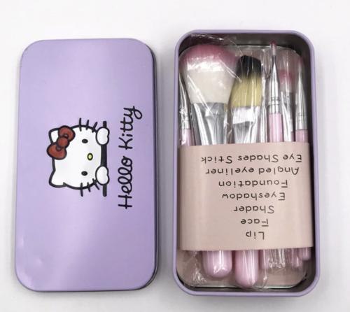 Hello Kitty Makeup Brush Set (Pack of 7)