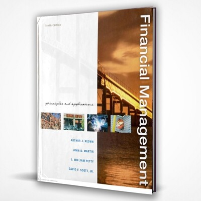 FINANCIAL MANAGEMENT   PRINCIPAL & APPLICATIONS