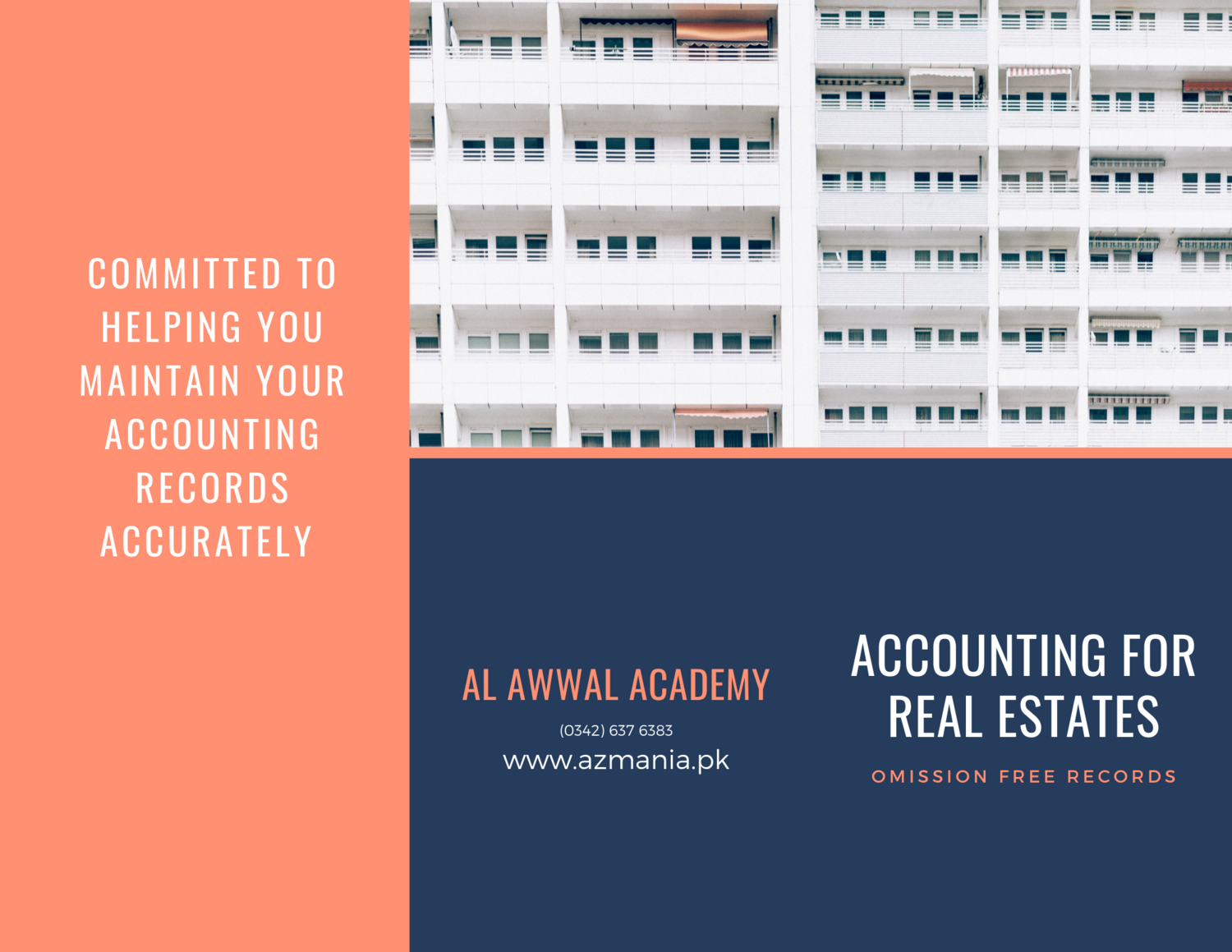 ACCOUNTANCY FOR REAL ESTATE