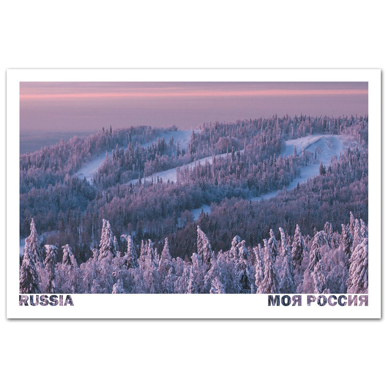 Восход солнца на Белой горе, Пермский край
