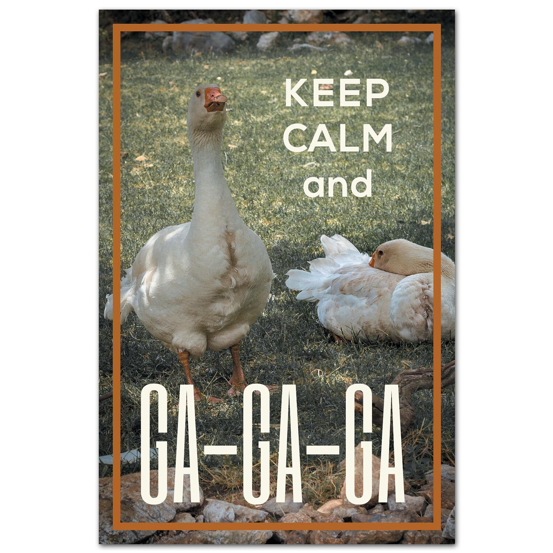 Keep Calm и ГА-ГА-ГА!