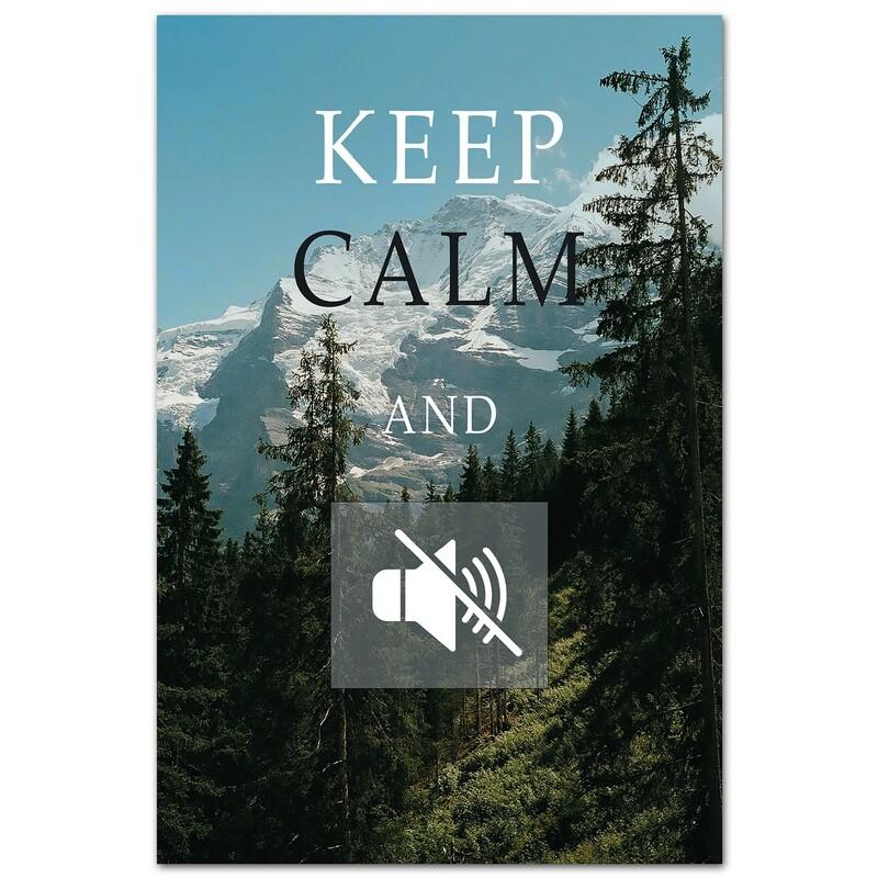 Keep Calm и убавь громкость