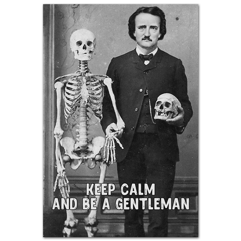 Keep Calm и будь джентльменом