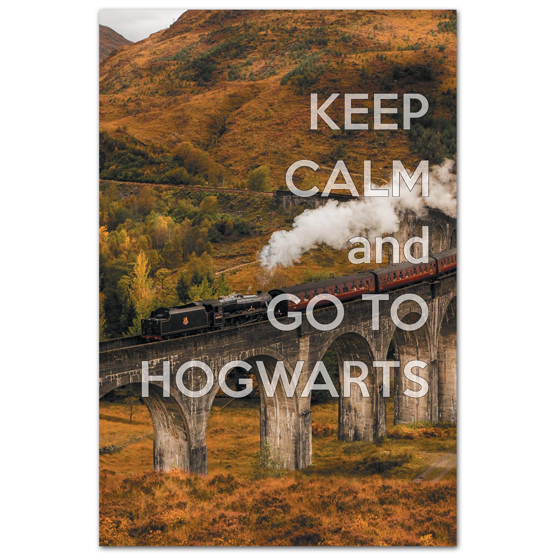 Keep Calm и поезжай в Хогвартс