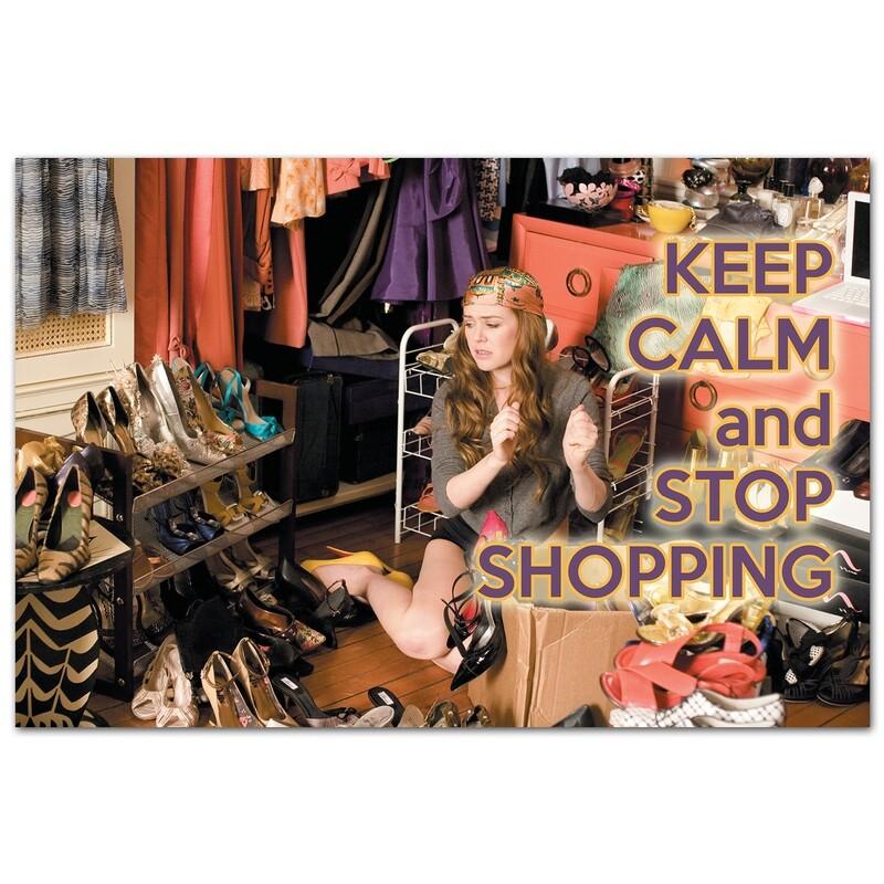 Keep Calm и хватит делать покупки