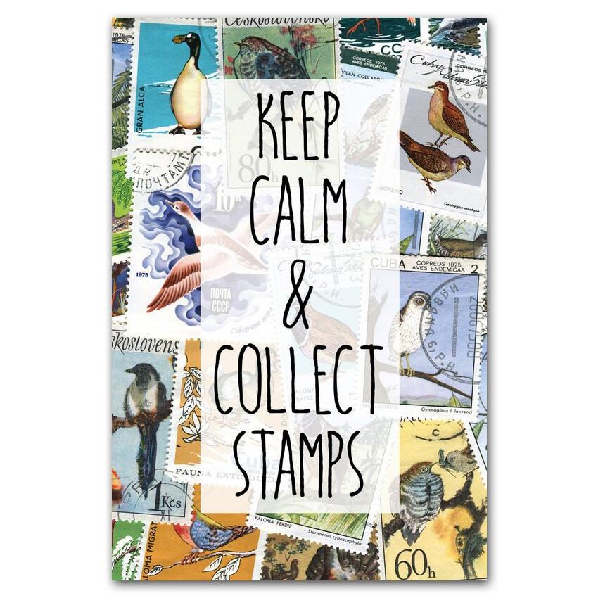 Keep Calm и собирай марки