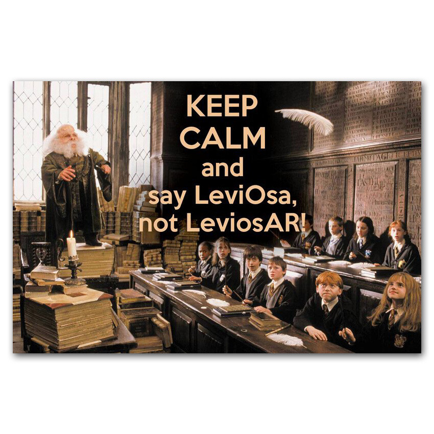 Keep Calm и ЛевиОса, а не ЛевиосА!