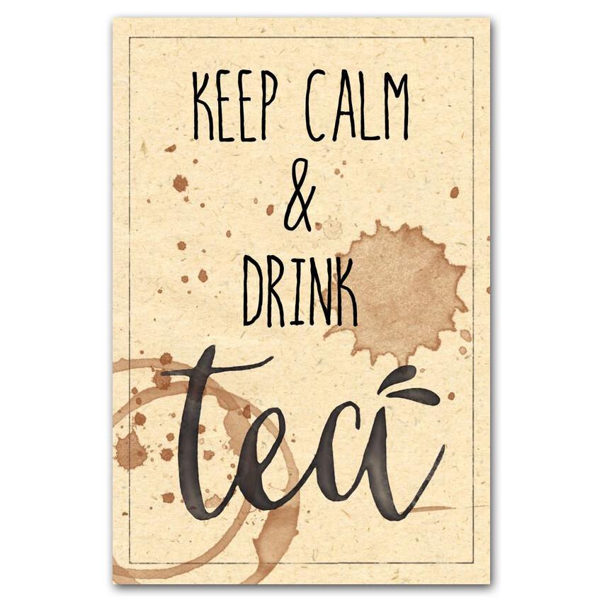 Keep Calm и выпей чаю