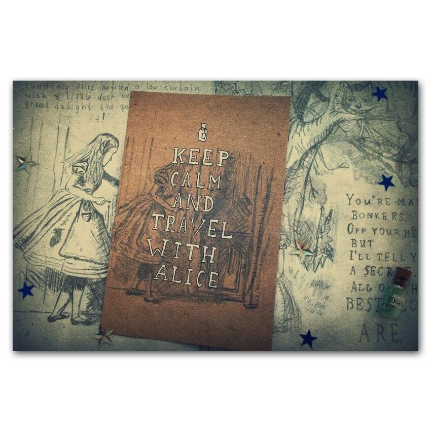 Keep Calm и путешествуй с Алисой