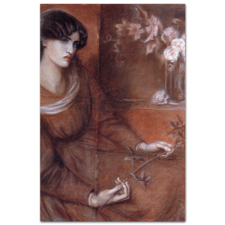 Джейн Моррис в образе Марианны. Россетти