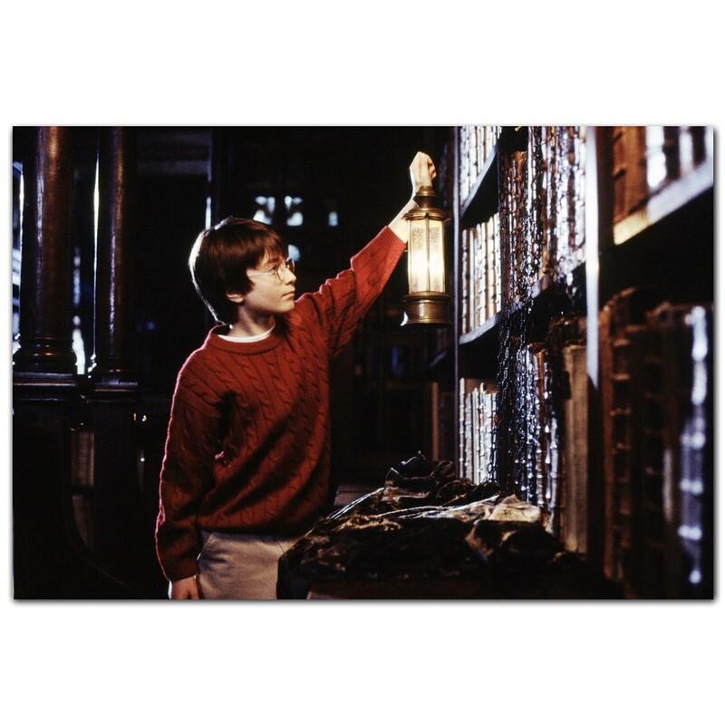 Библиотека Хогвартса. Запретная Секция