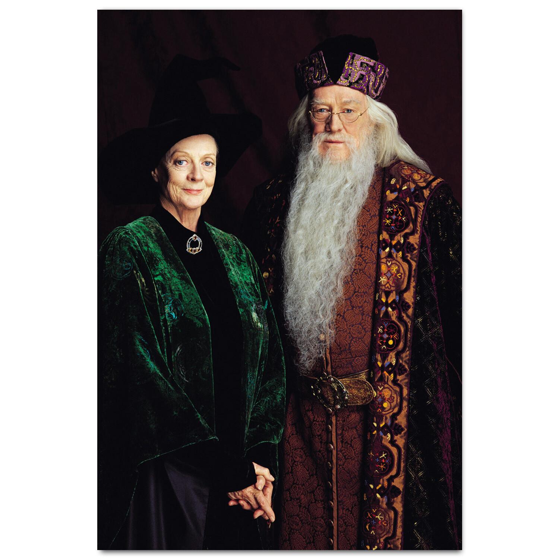 Макгонагалл и Дамблдор
