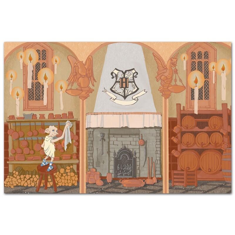 Кухня Хогвартса и Добби