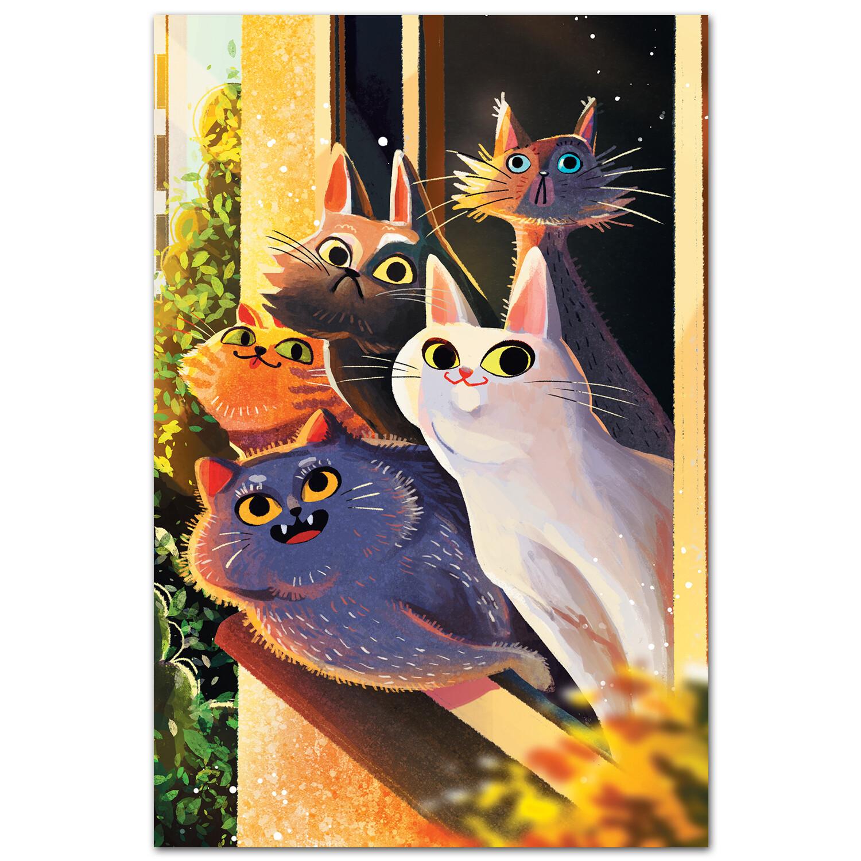 Соседские коты