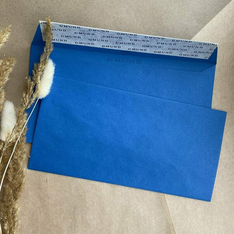 Лазурный конверт 11х22 см