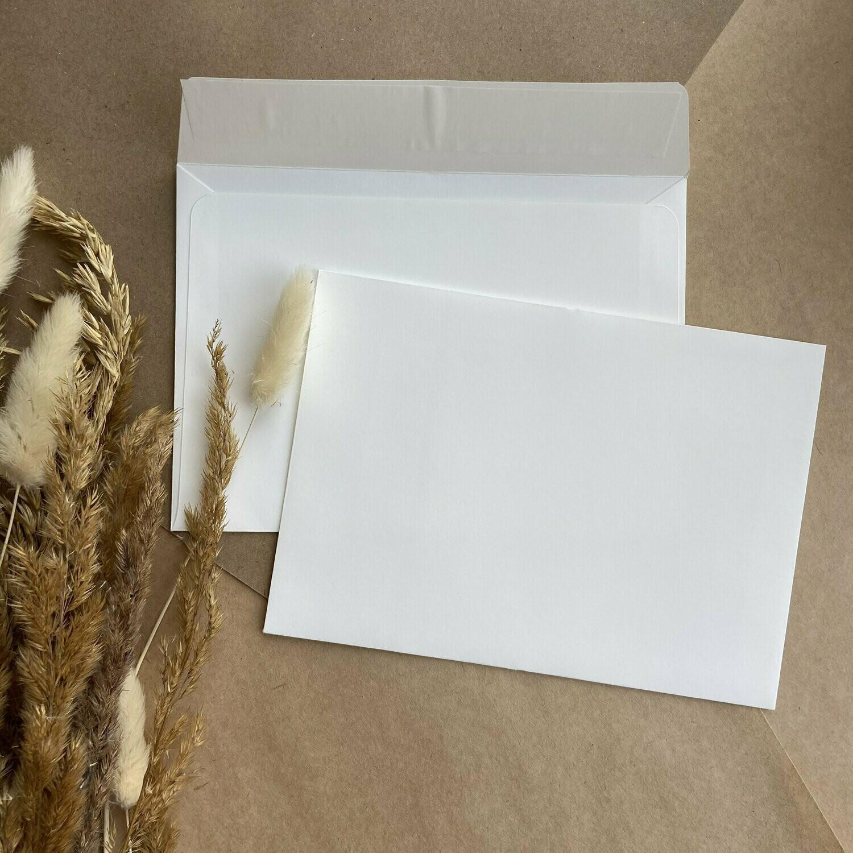 Конверт цвета слоновой кости С6 (11,4х16,2 см)