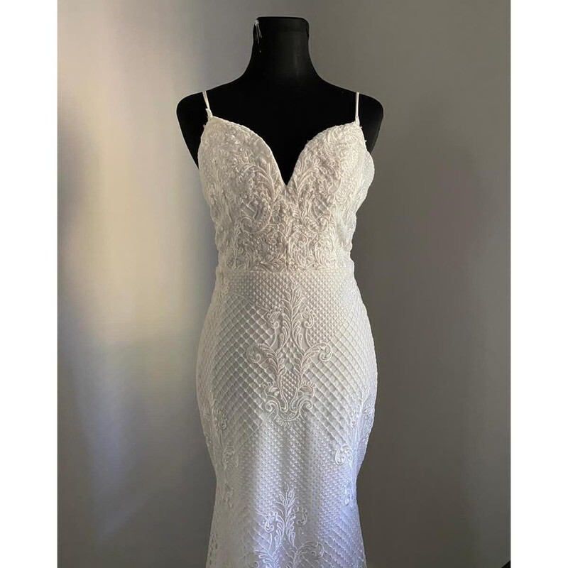 SAMPLE SALE - Moss wedding gown - size 10