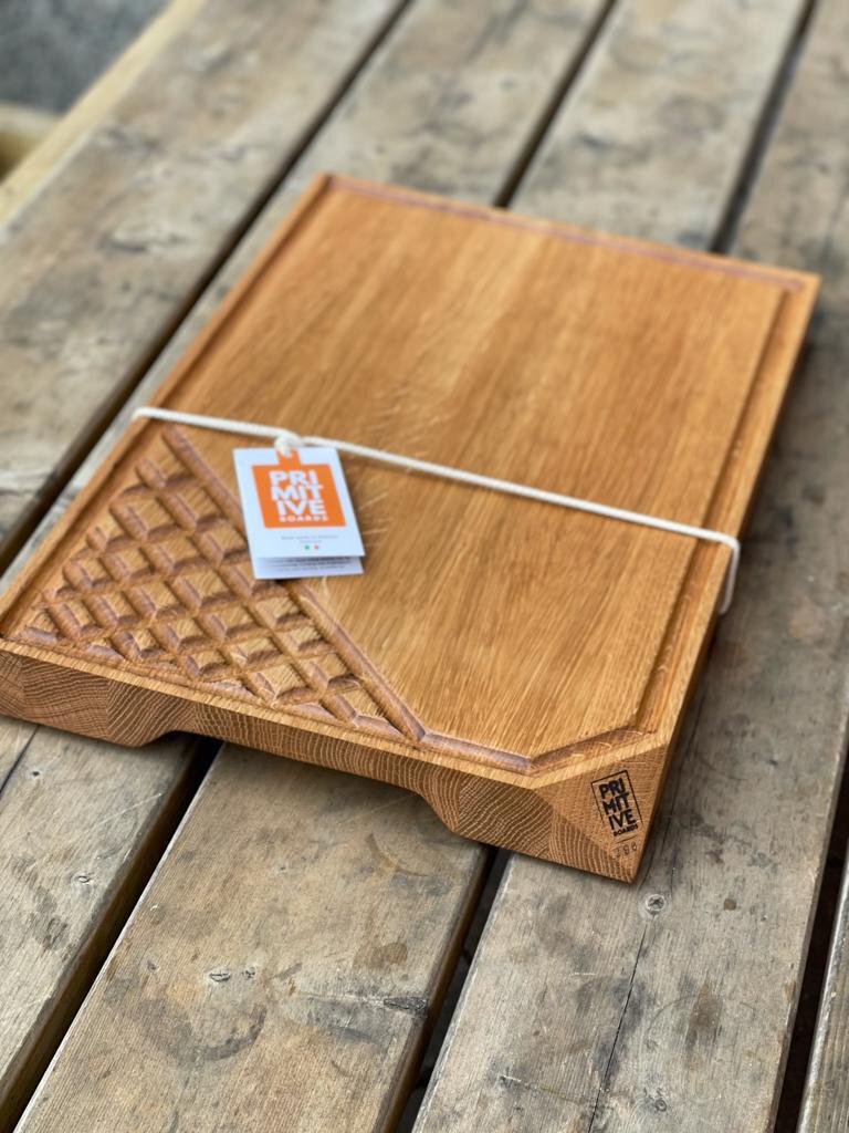 Oak Cutting Board #296