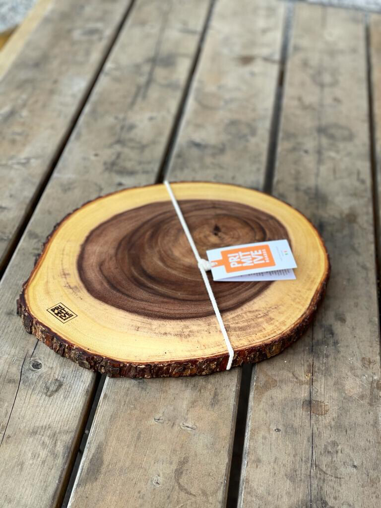 Large Rustic Tree Trunk Cheese Board #292