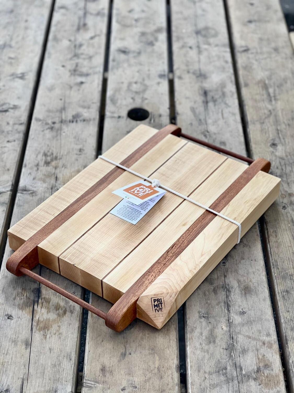 Maple & Sapele Cutting Board #302