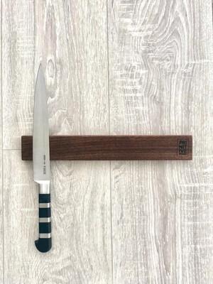 Magnetic Knife Holder - Walnut