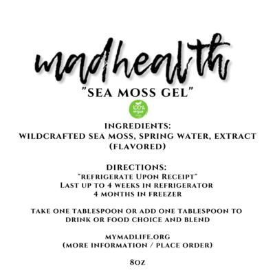 Sea Moss Gel (8oz)