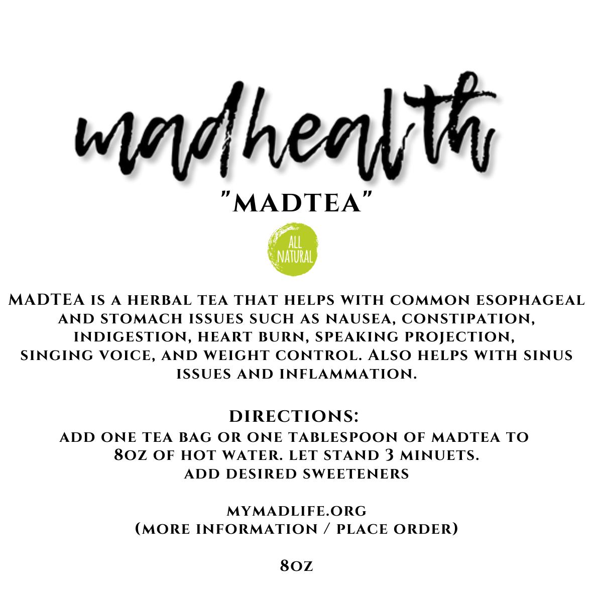 MADTEA (30 days)