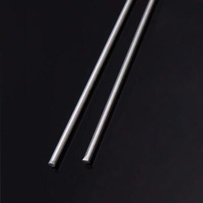 438 Silver Solder Rod 1.5mm dia x 500mm (2 Rod Pack)