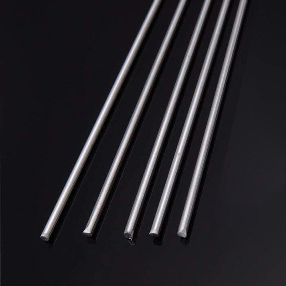 438 Silver Solder Rod 1.0mm dia x 500mm (5 Rod Pack)