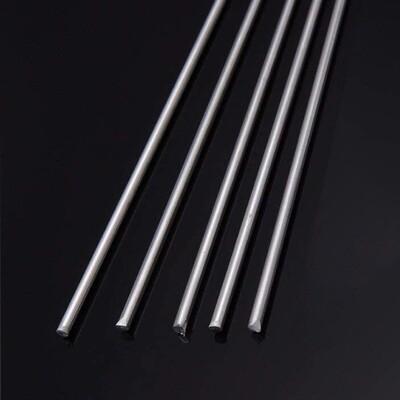 434 Silver Solder Rod 1.5mm dia x 500mm (5 Rod Pack)