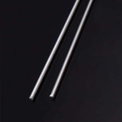 455 Silver Solder 2.5mm dia x 500 (2 Rod Pack)