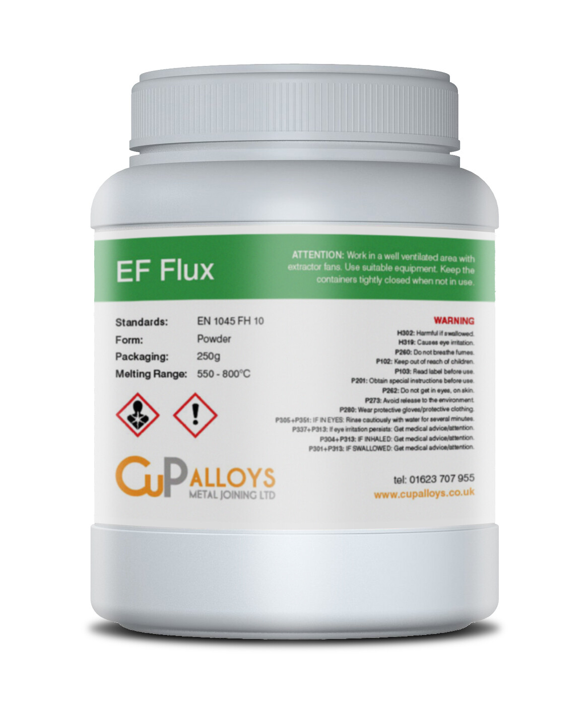EF Flux Powder 250g