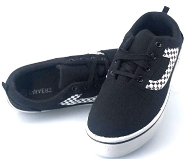 Love83 Women's Comfortable & Durable Skater Fashion Sneaker