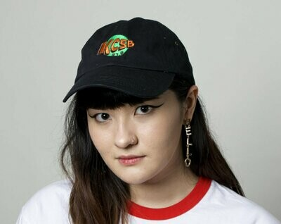 Black Hat with Green Logo