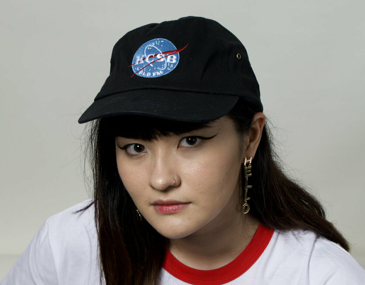 Black Hat with Space Logo