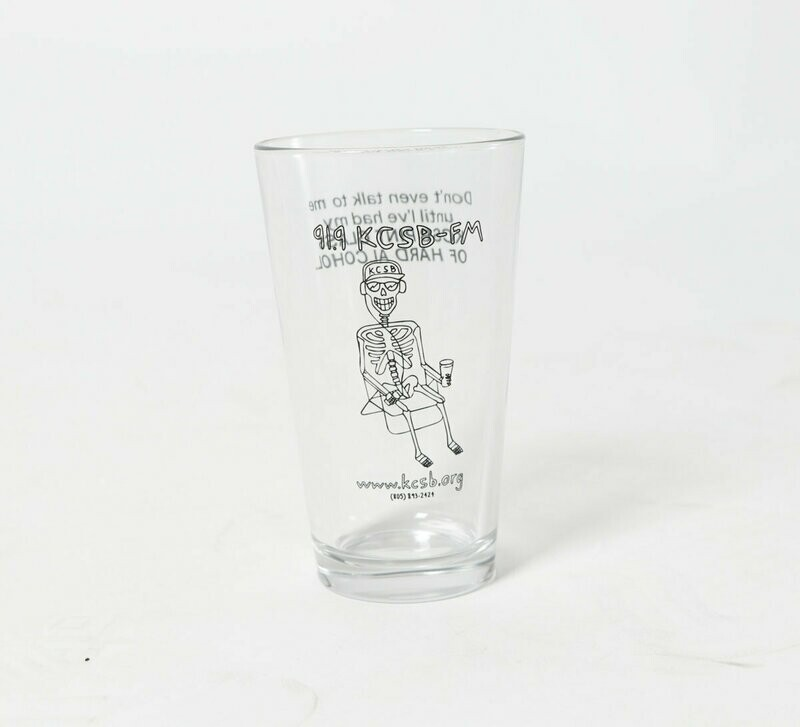 KCSB Pint Glass