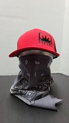 K.O.B TRUCKER HAT RED