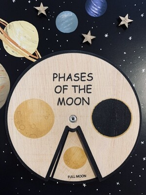 Learning Wheel-Phases of the Moon-Montessori Inspired Toy