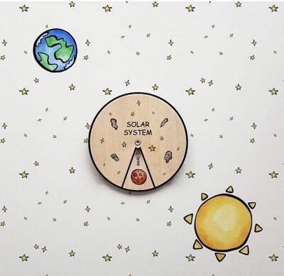 Solar System Learning Wheel