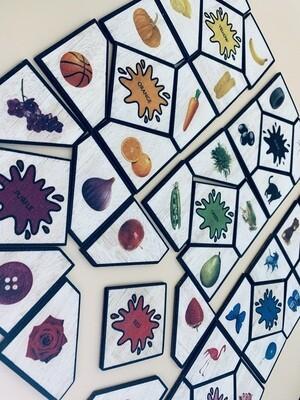 Montessori Learning Color Puzzle