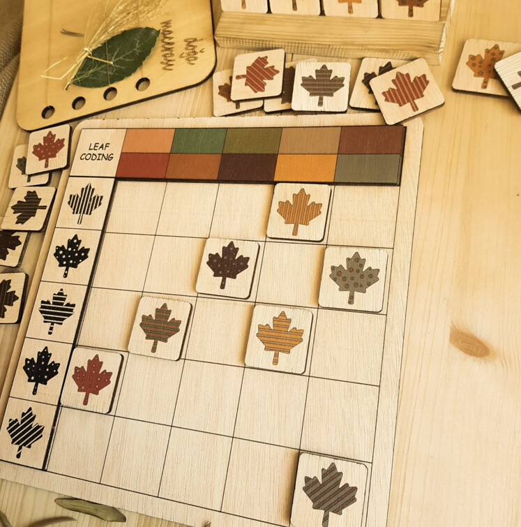 Leaf Coding Game