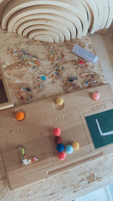 Learning Board - Read, Create, and Write