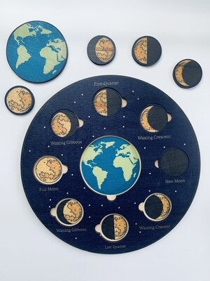 Phases Of the Moon Puzzle