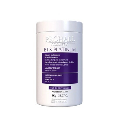 Prohall Botox Max Repair Organic Hair Treatment Platinum/Blond 1kg/35.2fl.oz