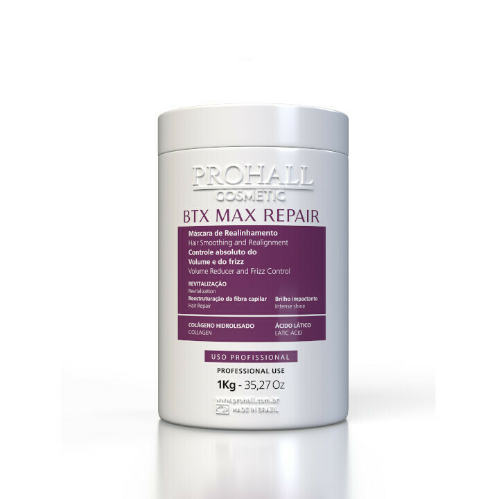Prohall Botox Max Repair Organic Hair Treatment 1kg/35.2fl.oz